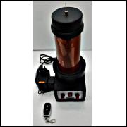 Bobina de Tesla mod. M1- 220Vac-com controle remoto