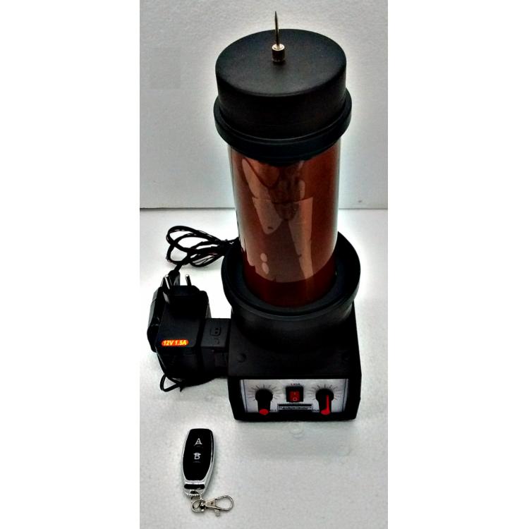 Bobina de Tesla mod. M1- 110Vac-com controle remoto