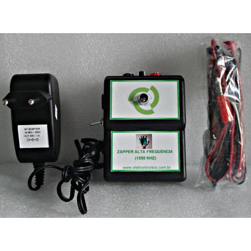Zapper de Ata frequencia, com fonte externa-1,5Mhz(1550Khz)