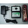 Zapper Multifrequências com fonte externa ou bateria e indicador de bateria fraca