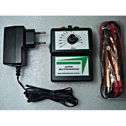 Zapper Multifrequências com fonte externa ou bateria